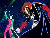 Albator contre Sylvidra : le duel à mort