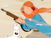 Tintin au pays de l'or noir (1)