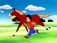 Nicolas et son cheval