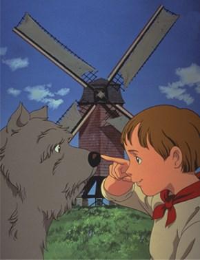 Un chien des Flandres