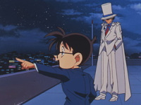 Conan contre le Kid Cat Burglar
