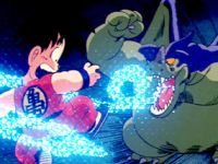 Songoku contre Dragon volant