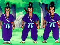 Cinq Murasaki contre Songoku