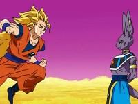 Duel chez Maître Kaio. Goku contre Beerus, le dieu de la destruction !