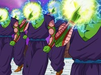 Piccolo contre Frost. On mise tout sur le rayon maléfique !