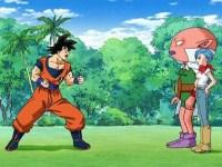 Une fête de la victoire mouvementée. L'affrontement : Monaka contre Goku !