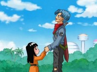 Des sentiments plus forts que le temps. Trunks et Maï !