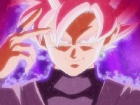 Deuxième manche contre Black Goku. Le Super Saïyen Rosé entre en scène !