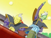 Protéger le dieu Kaioh Gowasu. Détruire Zamasu !