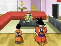 Goku et Krilin. Retour aux bonnes vieilles méthodes d'entraînement