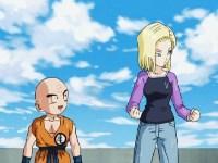 Son Goku, le chasseur de têtes. Une invitation pour Krilin et C-18