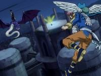 Un combat aérien : Natsu contre Cobra !