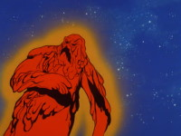 Le fantôme de l'espace et la chose brûlante