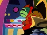 Le fantôme de l'espace et les piranhas de l'espace