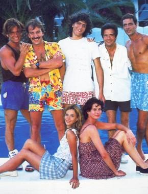 Les garçons de la plage