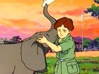 L'éléphant blessé
