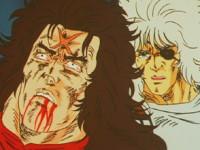 Les deux frères se retrouvent ! Kenshiro je t'attendais !!