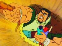 Le piège impitoyable des sables mouvants. Qui viendra sauver Fudo d'une mort imminente ?