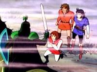 L'épée sacrée Excalibur