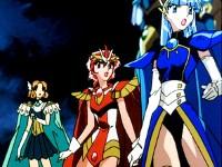 Les Magic Knights et Aska de Fahren !