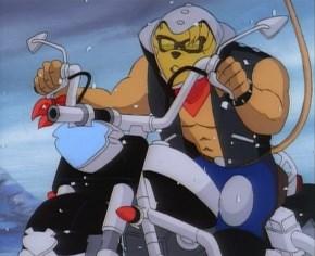Les motards de l'espace