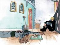 Un invité indésirable ! Le repas de Sanji et les obligations de Gyn