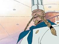 Sauvez le Baratie ! Le grand pirate Zeff aux pieds rouges