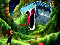 Les crocs du serpent ! Le jeu de survie débute !