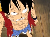 Enfin, ils s'affrontent ! Luffy le pirate contre le dieu Ener !