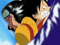 Duel entre Gum Gum et Glace ! Luffy contre Aokiji !