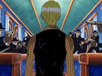 Sanji s'est infiltré ! Le train des mers dans la tempête !