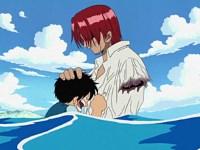 Vol au-dessus des chutes d'eau ! Les sentiments de Luffy !