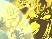La ténacité d'Akainu ! Luffy est attaqué par des poings de magma