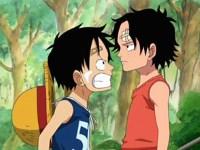 Luffy et Ace ! L'histoire d'une rencontre entre deux frères !