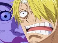 Sanji, le survivant de l'enfer. Un duel où sa virilité est en jeu