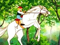 Cédric tombe de cheval