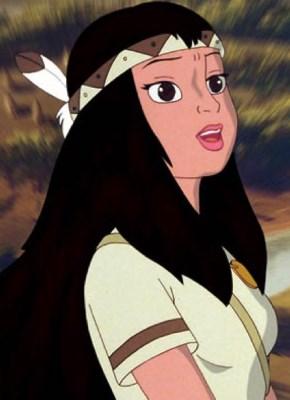 Pocahontas, princesse des Indiens d'Amérique