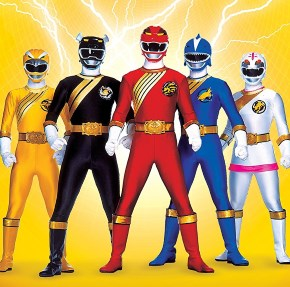 Power Rangers force animale
