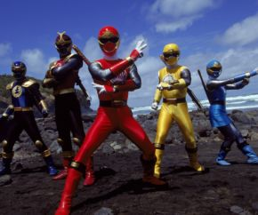 Power Rangers force cyclone
