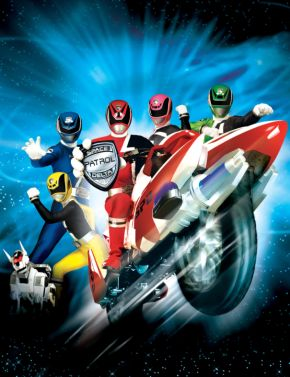 Power Rangers Super Police Delta