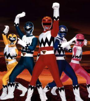 Power Rangers, l'autre galaxie