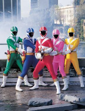 Power Rangers, sauvetage éclair
