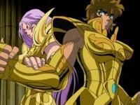 Le choc des armures d'or