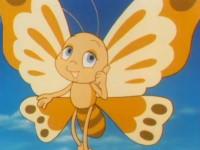 Le papillon mécontent