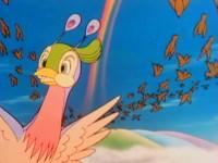 L'oiseau arc-en-ciel