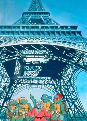 """Saison spéciale """"Tortues Ninja en Europe"""" (1991-92) - 13 épisodes (125 à 137)"""